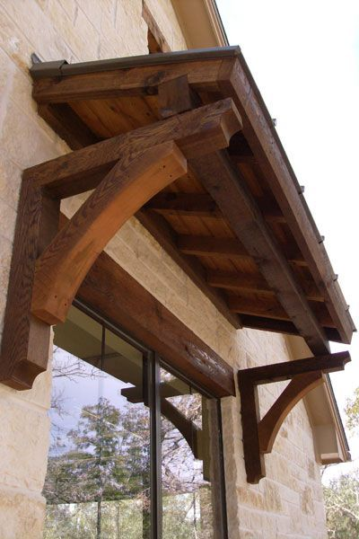 Love This Rustic Awning   Definite Possibility For The Door To The Back  Porch