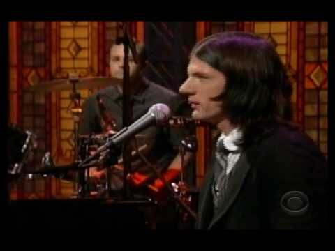 """Avett Bros, """"I and Love and You"""" live on the Late Show with David Letterman. """"That woman she's got eyes that shine, like a pair of stolen, polished dimes."""""""