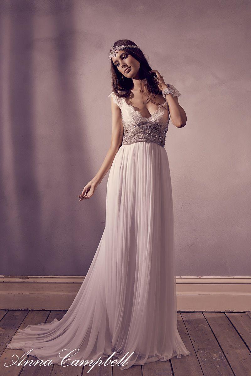 Fantástico Precios De Vestidos De Novia Anna Campbell Elaboración ...