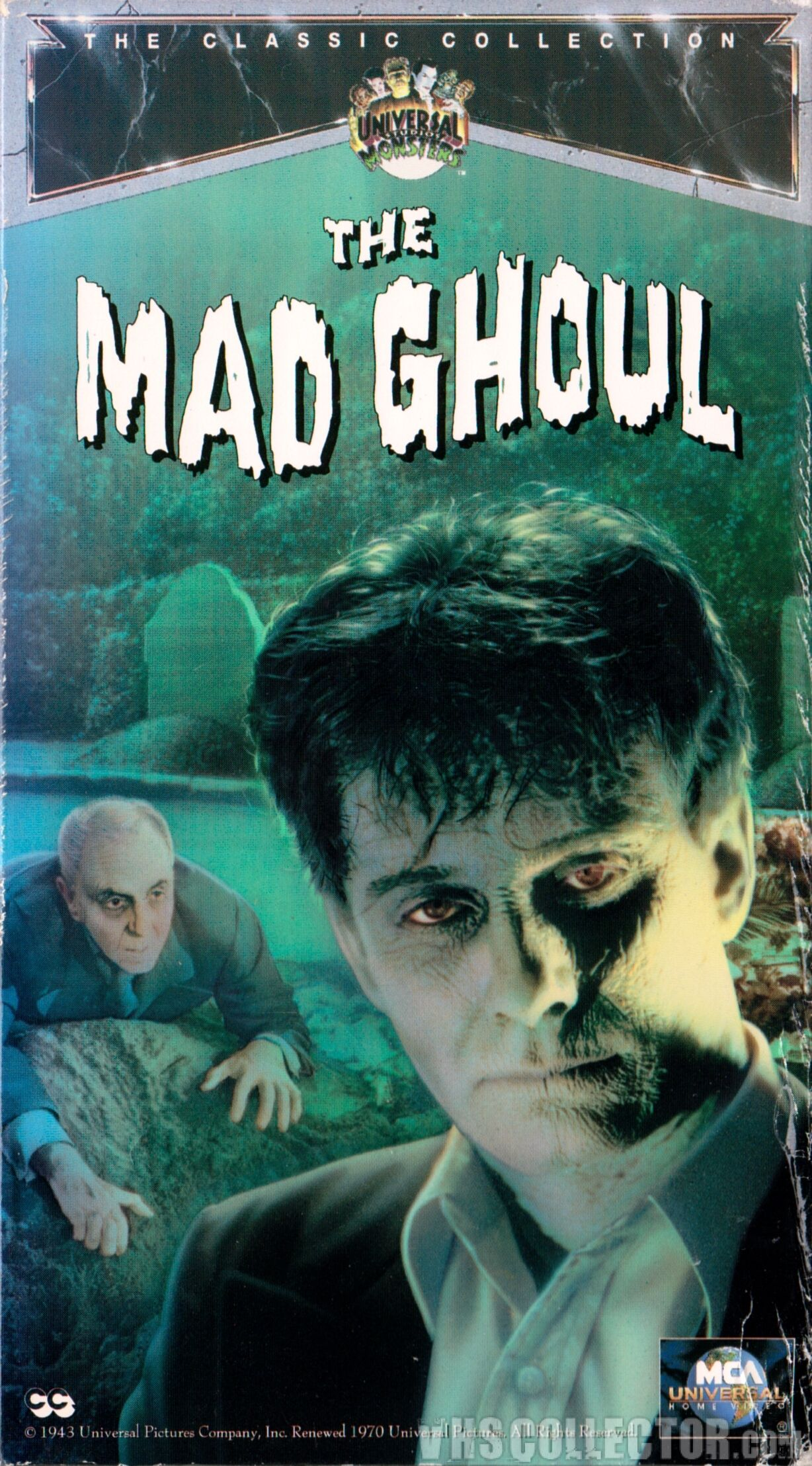 The Mad Ghoul Zombie movies, Classic horror movies, Ghoul