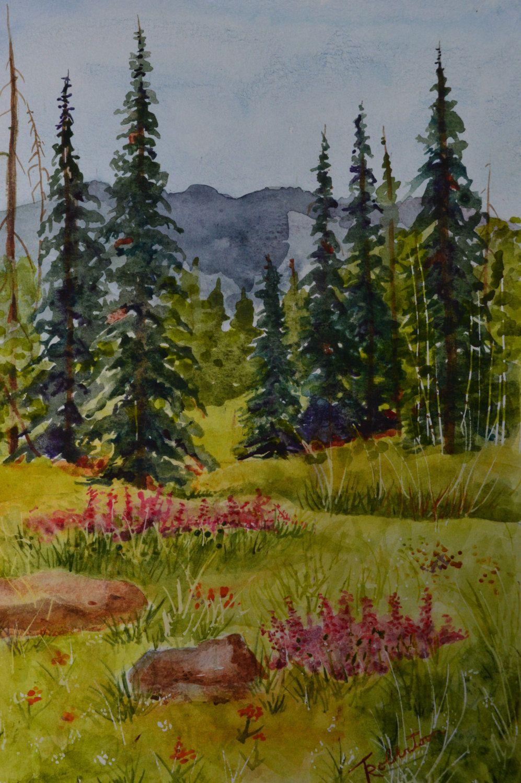 Landscape Paintings Forest
