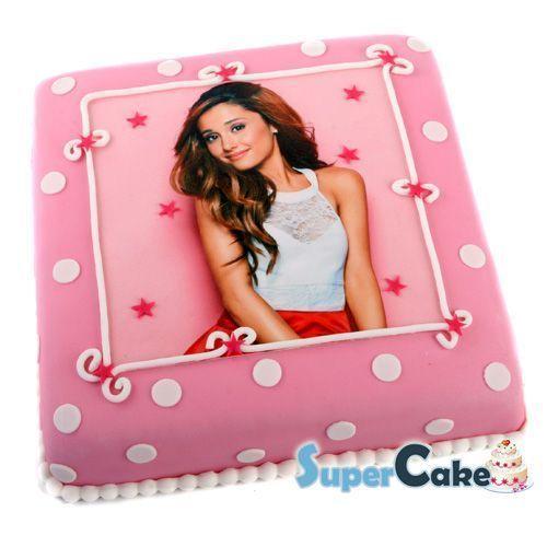 Ariana Grande taart