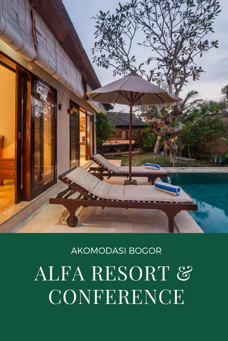 Alfa Resort Conference Adalah Hotel Dengan Konsep Villa Yang Luar Biasa Nyaman Dan Berlokasi Strategis Tepatnya Di Jl Ciburial Cisar Villa Hotel Pemandangan