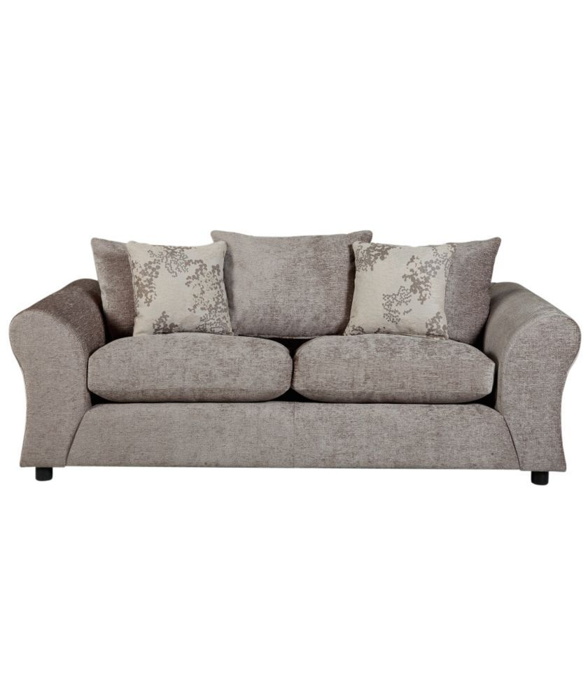 Argos Ava Fabric Sofa Review Tommy Bahama Table Buy Clara Large Mink At Co Uk Your Online Shop For Sofas