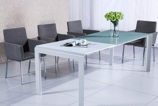 320€ Mesa extensible para comedor de estructura metálica y ...