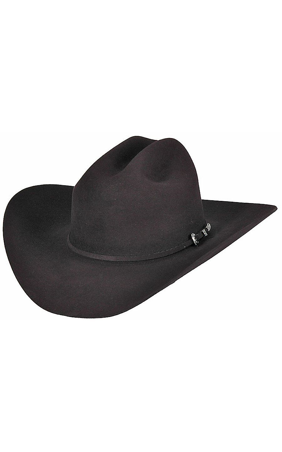 0b07840f2810eb Rodeo King 7X Low Rider Black Felt Cowboy Hat | Cowboy Hats & Caps ...