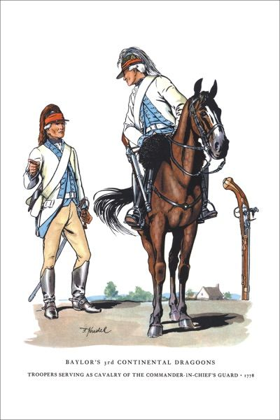 Baylor's 3rd Continental Light Dragoons