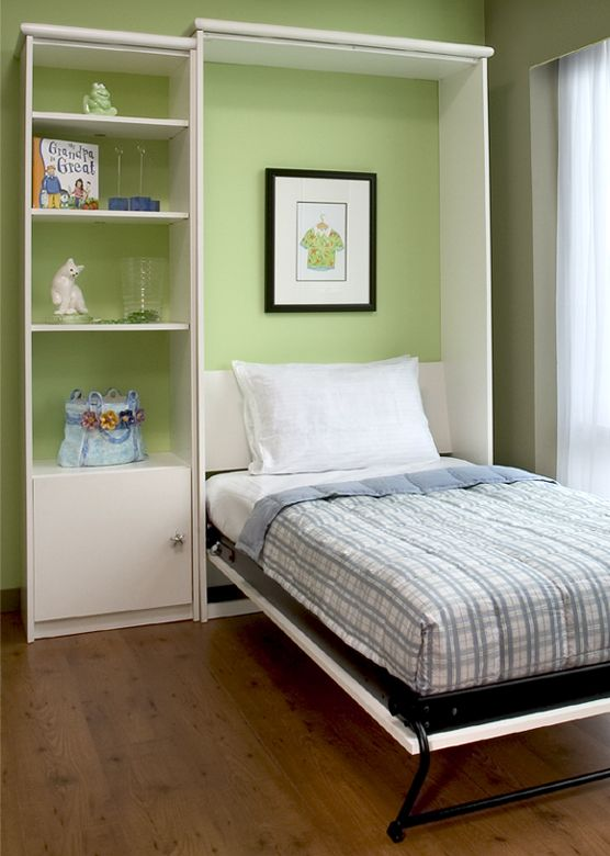 Single Twin Size Closet Bed Murphy Bed Great For The Occasional