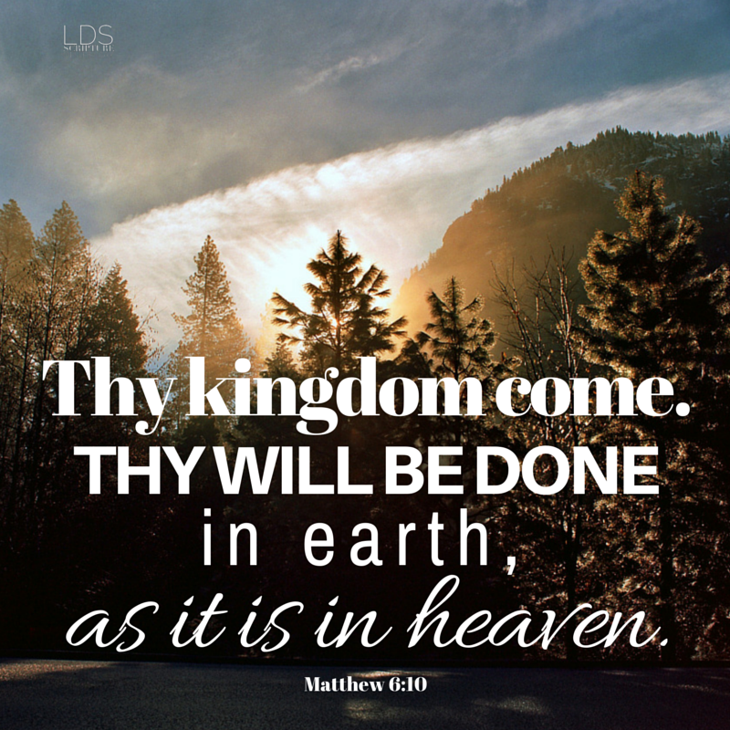 Matthew 6:10 — Your Kingdom Come images