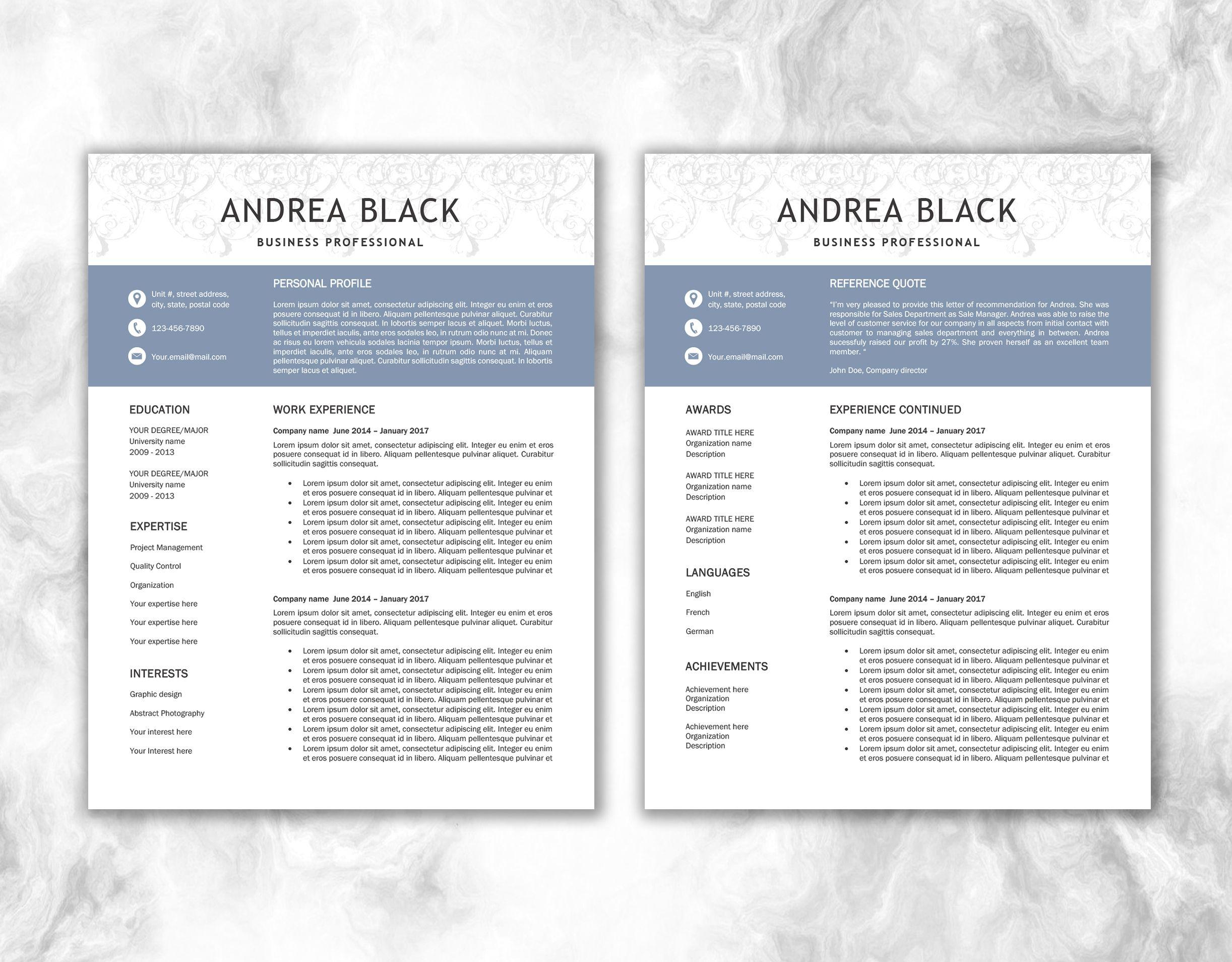 Pin by Document Folder on Document Folder Shop - Resume   CV ...