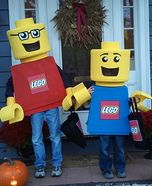 Lego Mini Figure Costumes for Kids