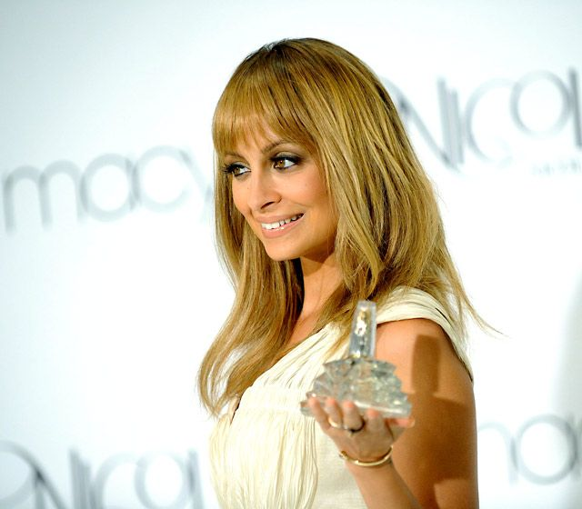Nicole Richie - love her hair and makeup here