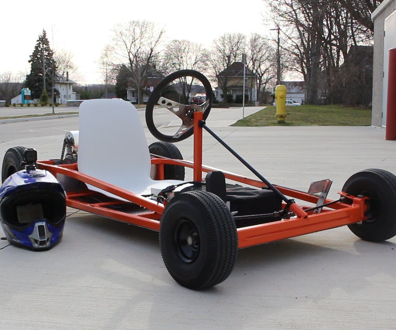 How to Make an Electric Go Kart | Cars, Electric vehicle and Car vehicle