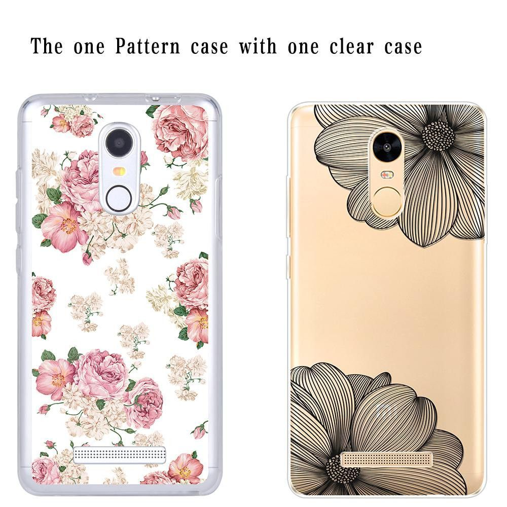 For Xiaomi Redmi Note 3 Pro Special Edition Case soft TPU Cover girly flower Case for Xiaomi Redmi Note 3 3i Pro Prime SE 152mm