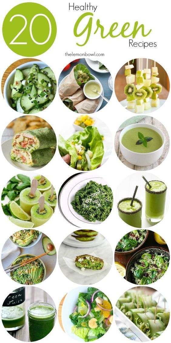 20 healthy green recipes breakfast lunch dinner appetizers 20 healthy green recipes breakfast lunch dinner appetizers snacks forumfinder Choice Image
