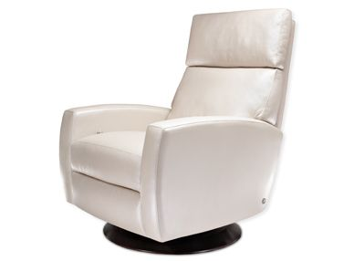 Admirable Ella American Leather Modern Recliner Chair And Swivel Short Links Chair Design For Home Short Linksinfo