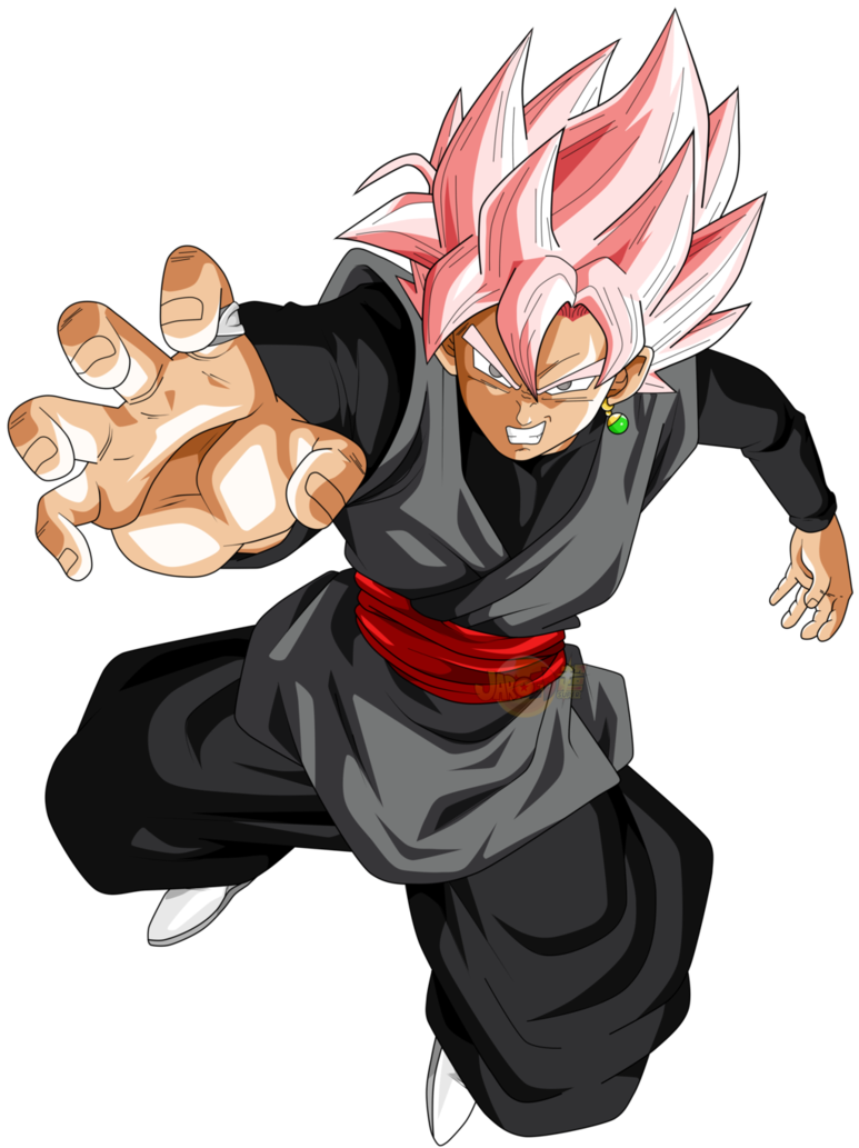 goku black ssj rose v6 by jaredsongohan on DeviantArt