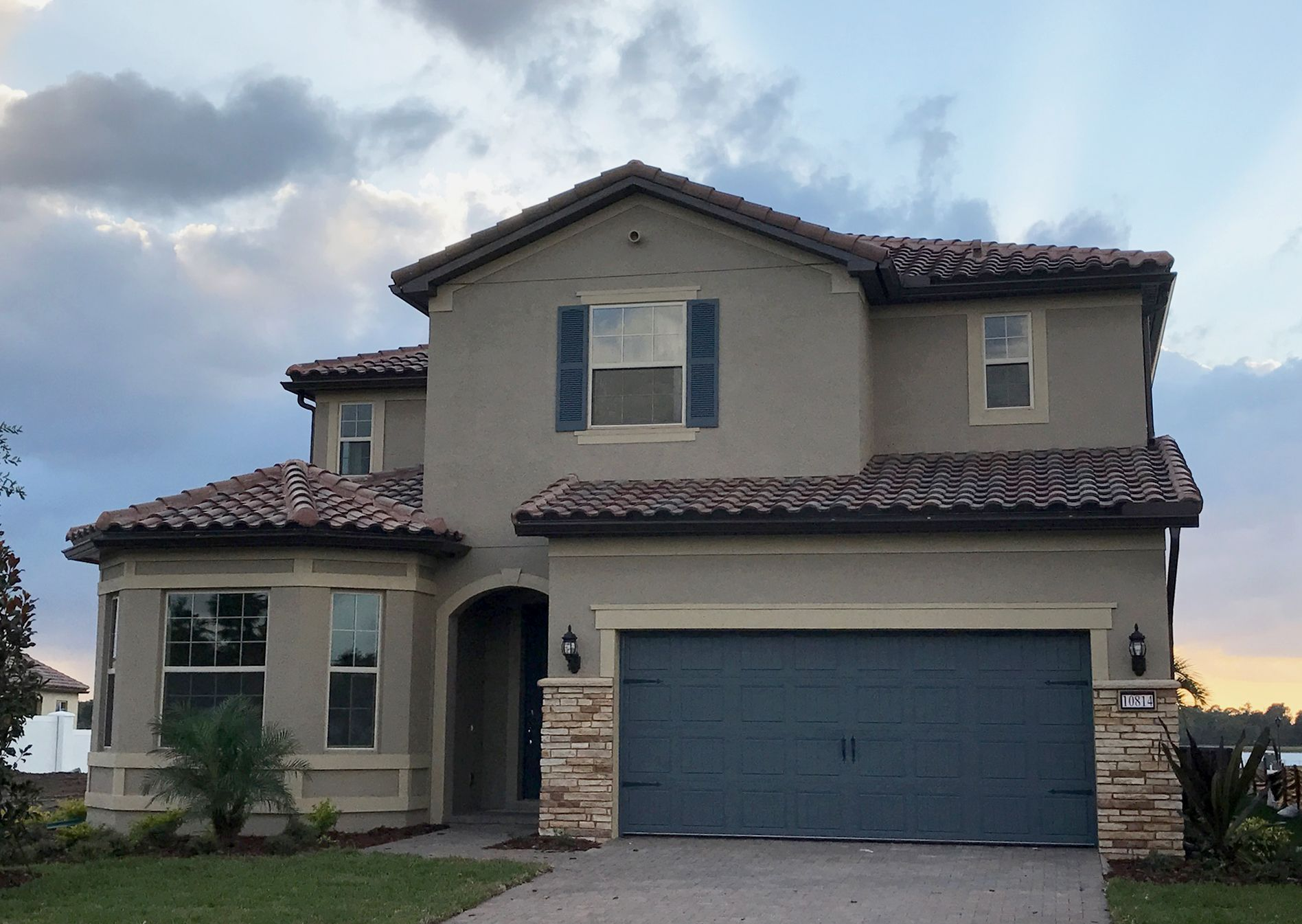 Stunning Tile Roof Projects In The Pulte Homes Community Of Ruby Lakes Located In Orlando Fl Pulte Homes House Styles Central Florida