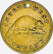 Coins And Canada Articles On Tokens And Medals Fur Trade Token Canadian History