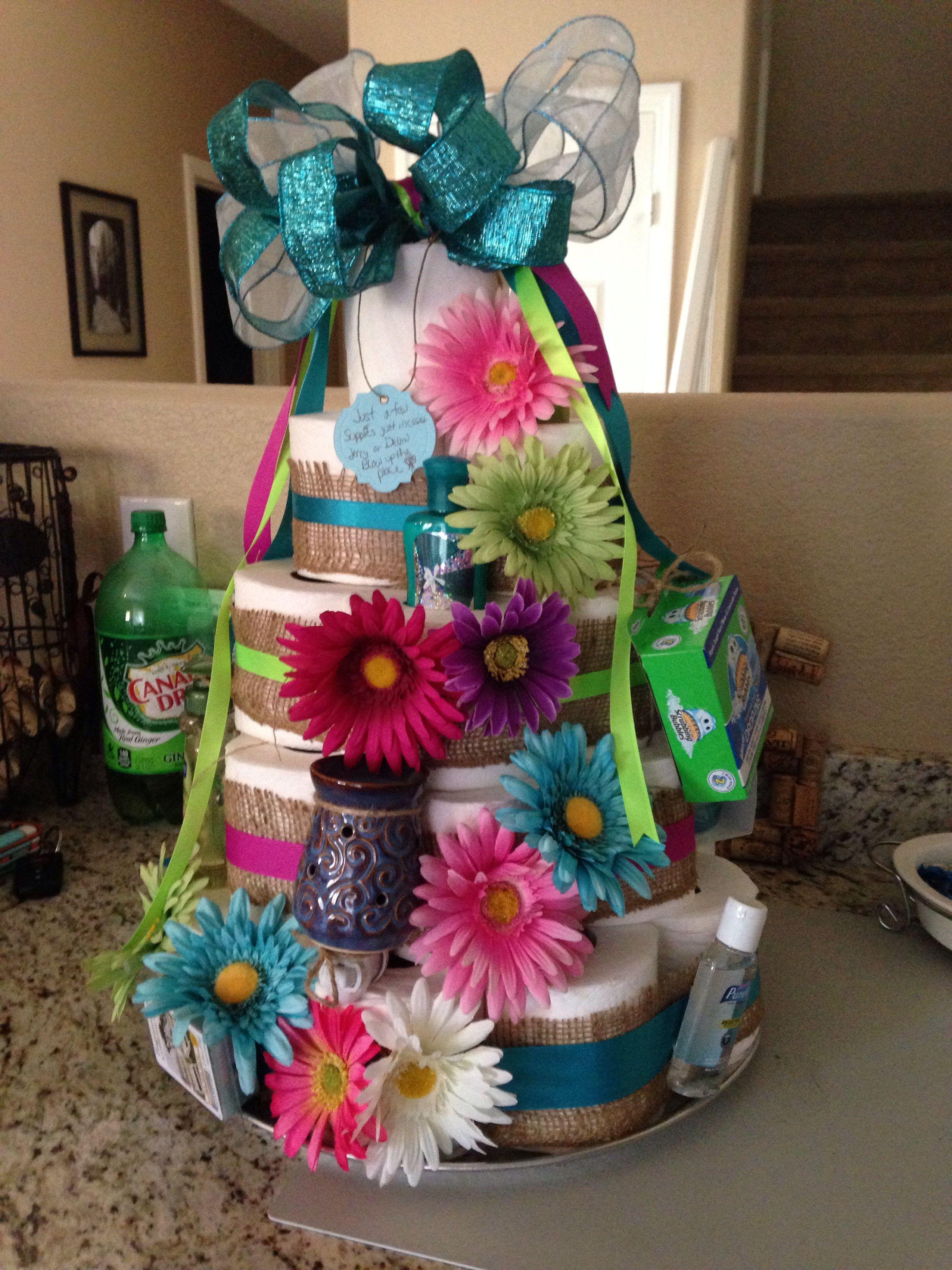 Housewarming Toilet Paper Cake Housewarming Ts