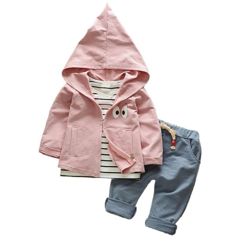 Sikye Newborn Baby Girls Boys Autumn Winter Romper Jacket Hooded Outfits Hoodie Thick Jumpsuit Coat Outwear