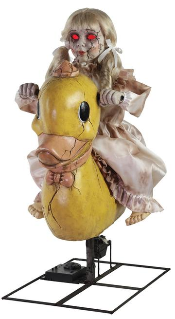 New Halloween 2019 Rocking Ducky Doll Animated Prop