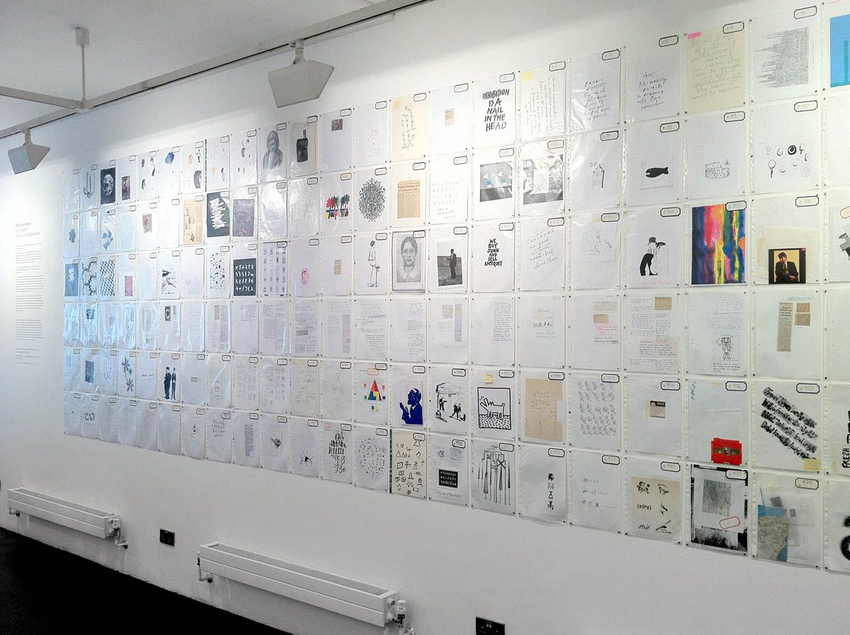 Alan fletcher the art of looking sideways exhibition at
