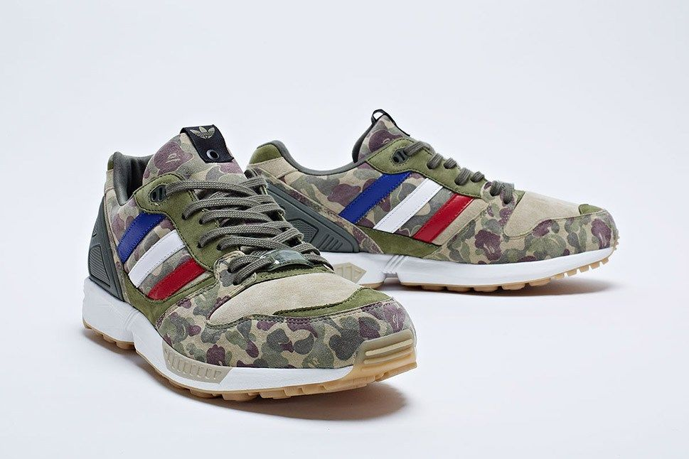 Courtesy of KITH, we have word on a release date for this hotly anticipated  release from adidas Consortium, BAPE and UNDFTD, featuring the ZX the Campus