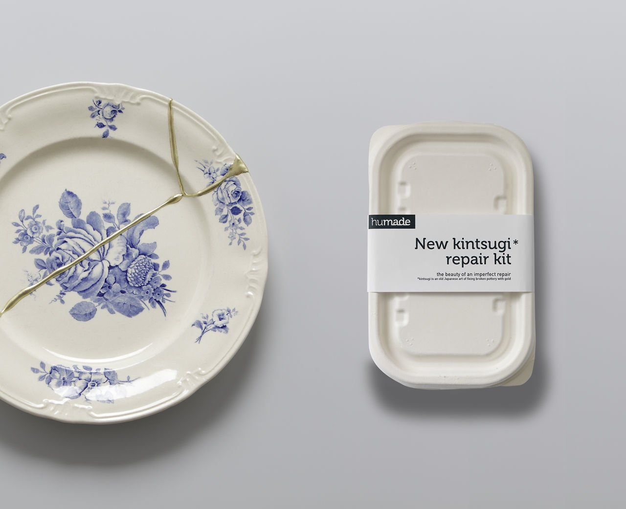 New Kintsugi gold repair by Humade. A new western way of gluing ceramics with gold based on an old Japanese technique kintsugi. & New Kintsugi gold repair | Kintsugi Craft and Creativity