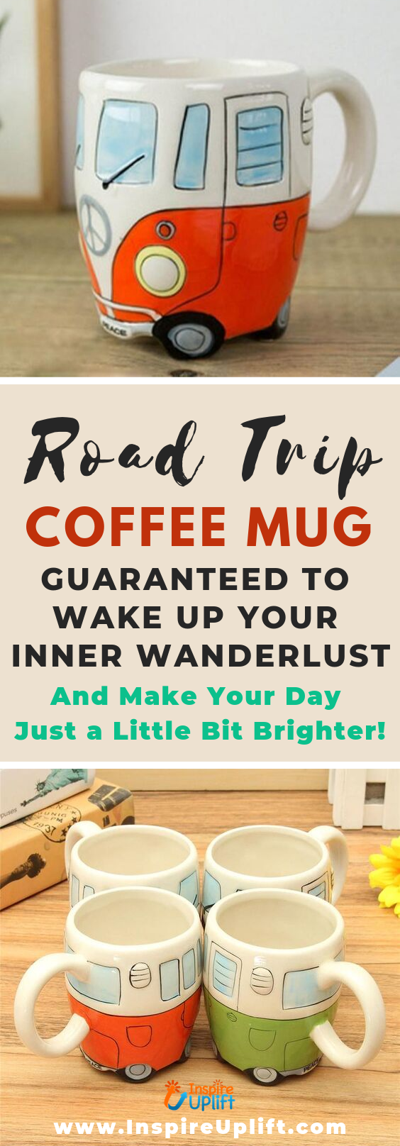 Road Trip Coffee Mug 😍 InspireUplift.com