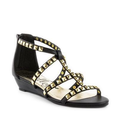 Lilley Womens Studded Gladiator Sandal