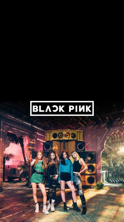 BLACK PINK Lockscreen / Wallpaper reblog if you save/use