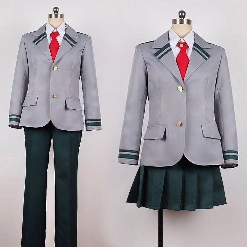 Material Uniform Cloth Female Skirt Tie Coat Male Pant Tie