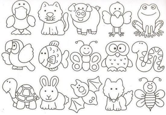 Imagenes dia del animal para colorear bonitos   animales