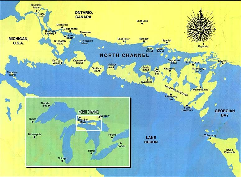 North Channel - Michigan/Canada | Cruising the North Channel ...