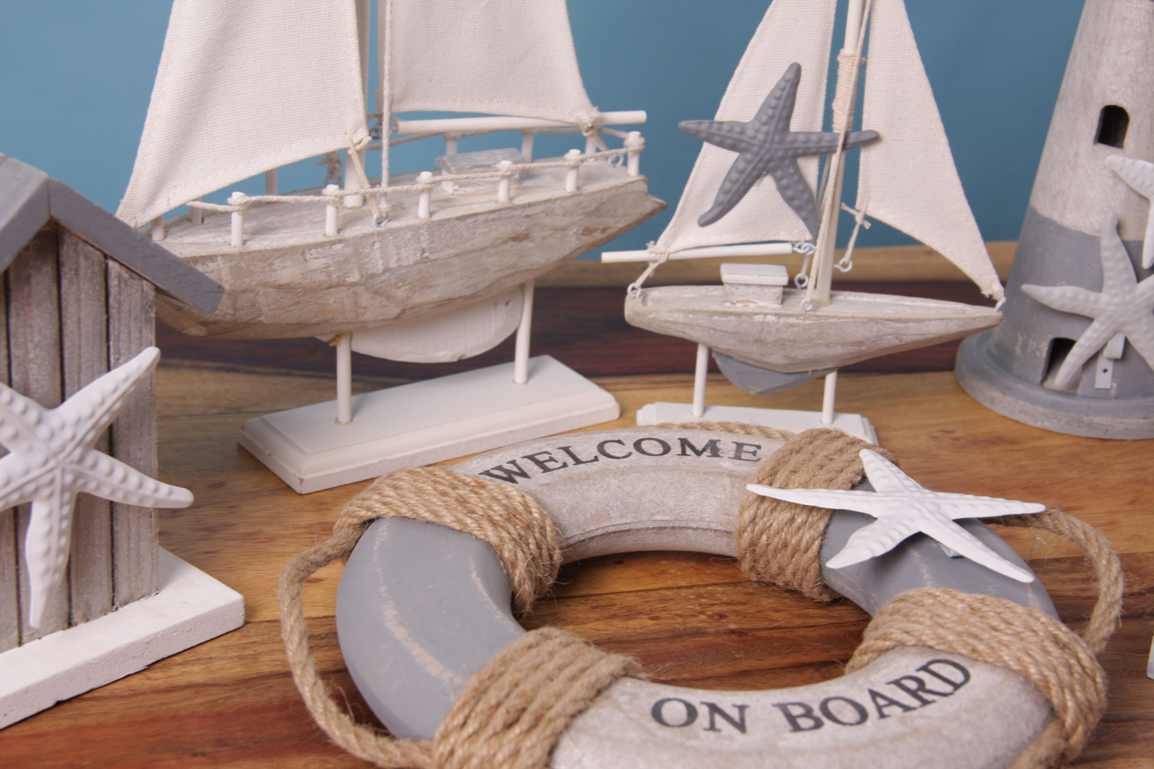 Nautical Wooden Seaside Ornaments With Images Wholesale Gifts Gift Shop Giftware