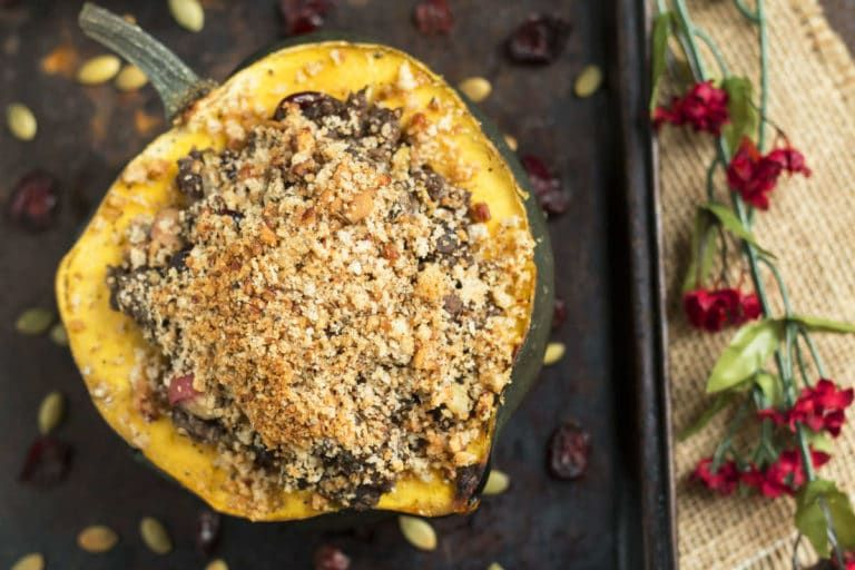 Stuffed Acorn Squash With Ground Turkey Recipe With Images