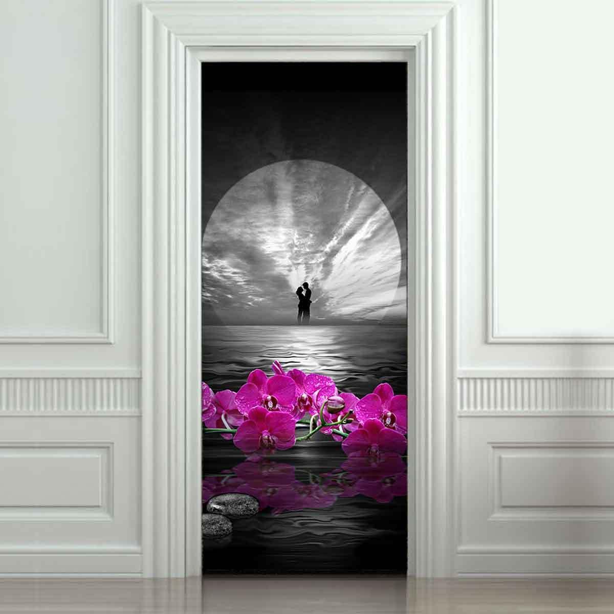 Cm removable d wall door wrap sticker mural vinyl art decal