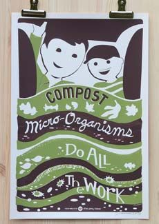 "Nice visual to share with Juniors earnging their Gardener badge. The original pinner wrote: ""Composting significantly decreases your weekly trash output and provides you with fresh soil for your garden."""