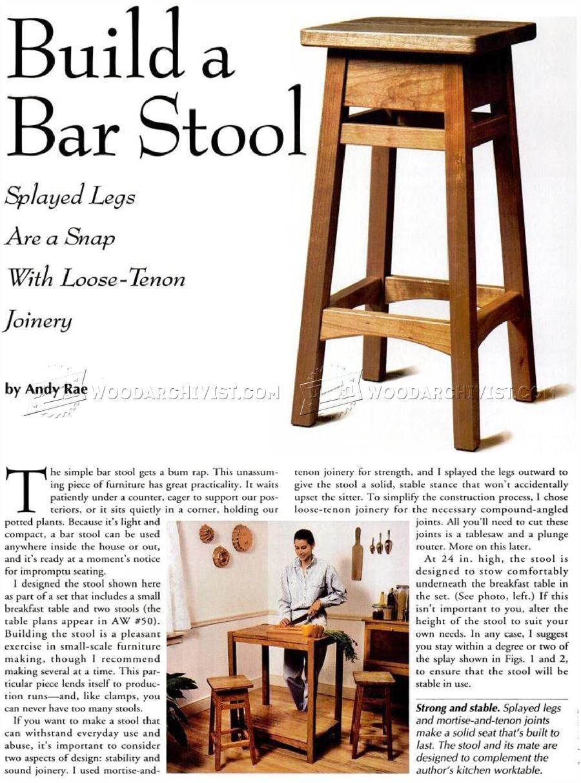 10 DIY Bar Stool - Furniture Plans  바 스툴, 목재 테이블, 가구
