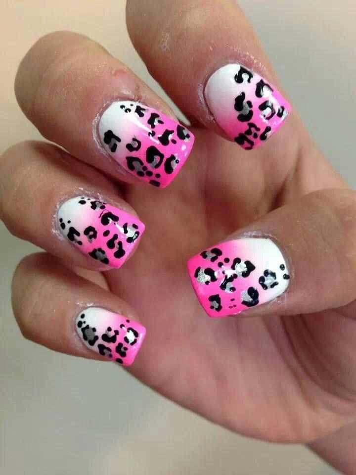 Leopard Nail Art Designs Great Nail Art Design Pinterest