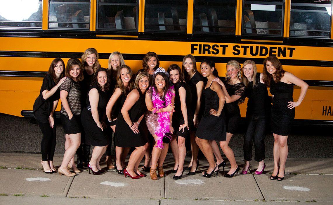 Weddings & Parties School Bus Rentals First Charter
