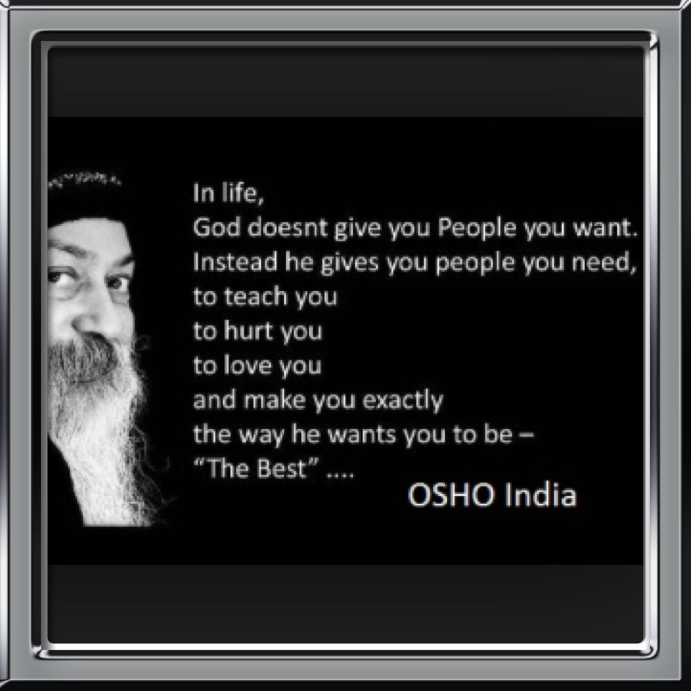 Pin by 3OrganicHealth on OSHO  Osho quotes on life, Osho quotes, Osho