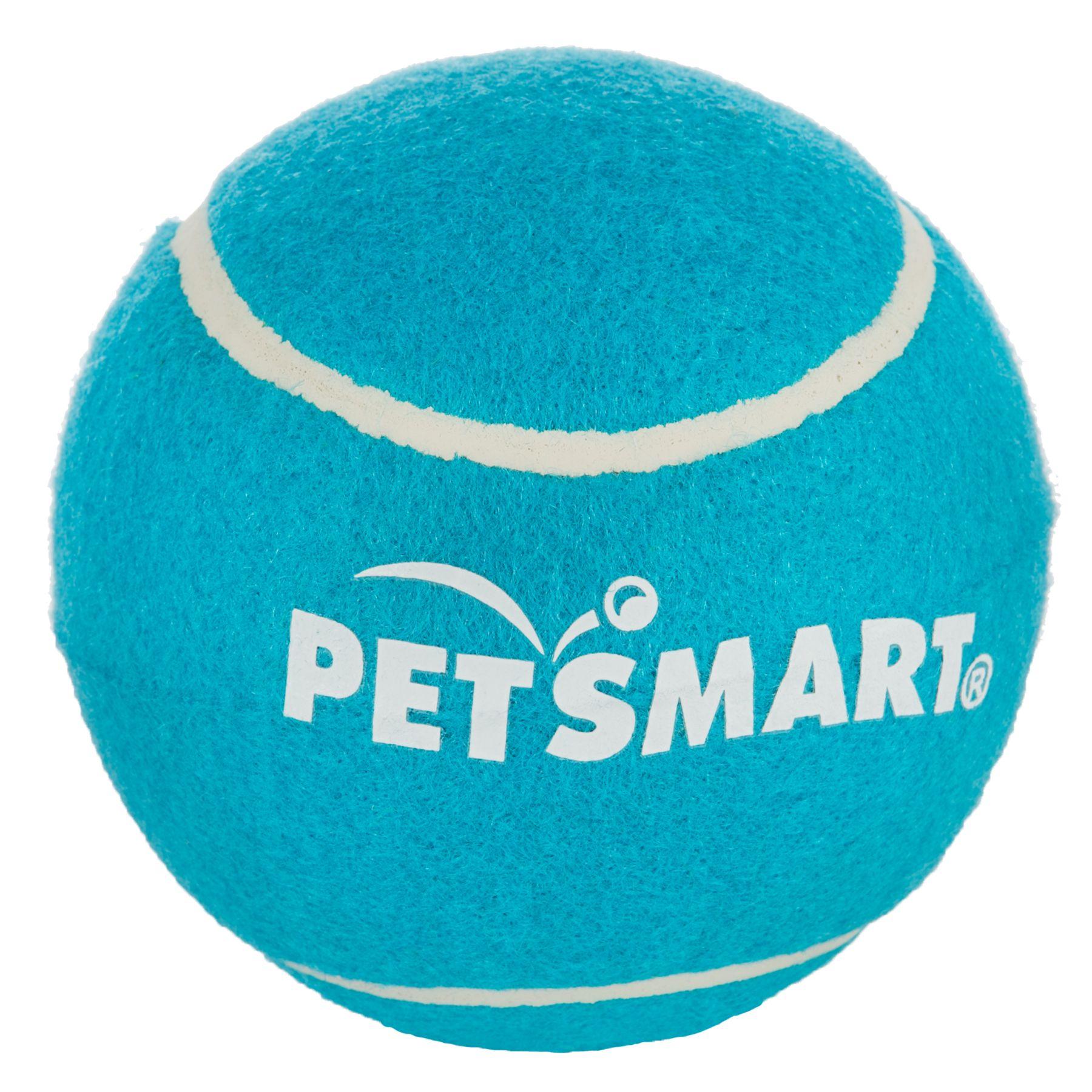 Grreat Choice PetSmart Giant Tennis Ball, Blue Tennis
