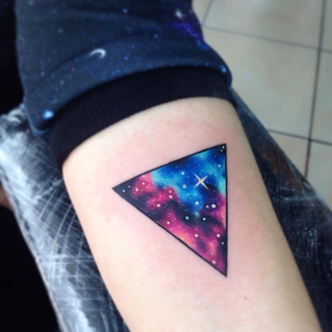 Trigalx Ab Tattoo Tatuaje Galaxy Star Ab Nebulosa Space