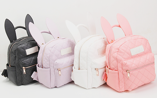d2c6a930108d BUNNY EARS backpack wonderland rabbit pastel cute kawaii harajuku small bag  amo