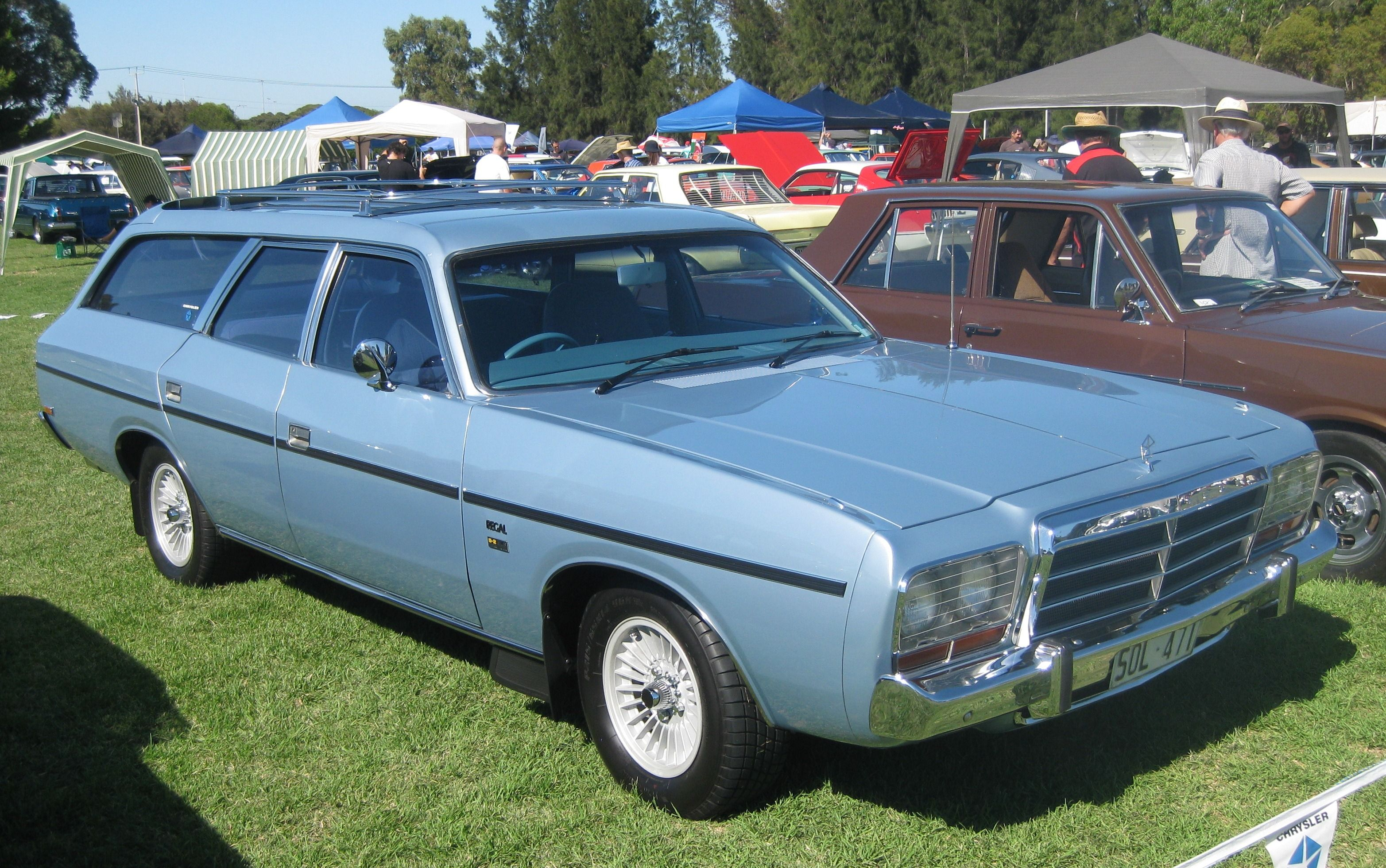 Chrysler cm regal wagon