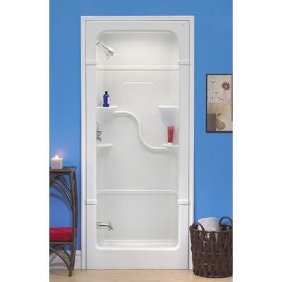 Mirolin Madison 36 3 Pc Shower Stall Sh33l Home Depot