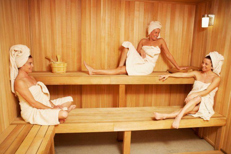 la sauna perde pesoa