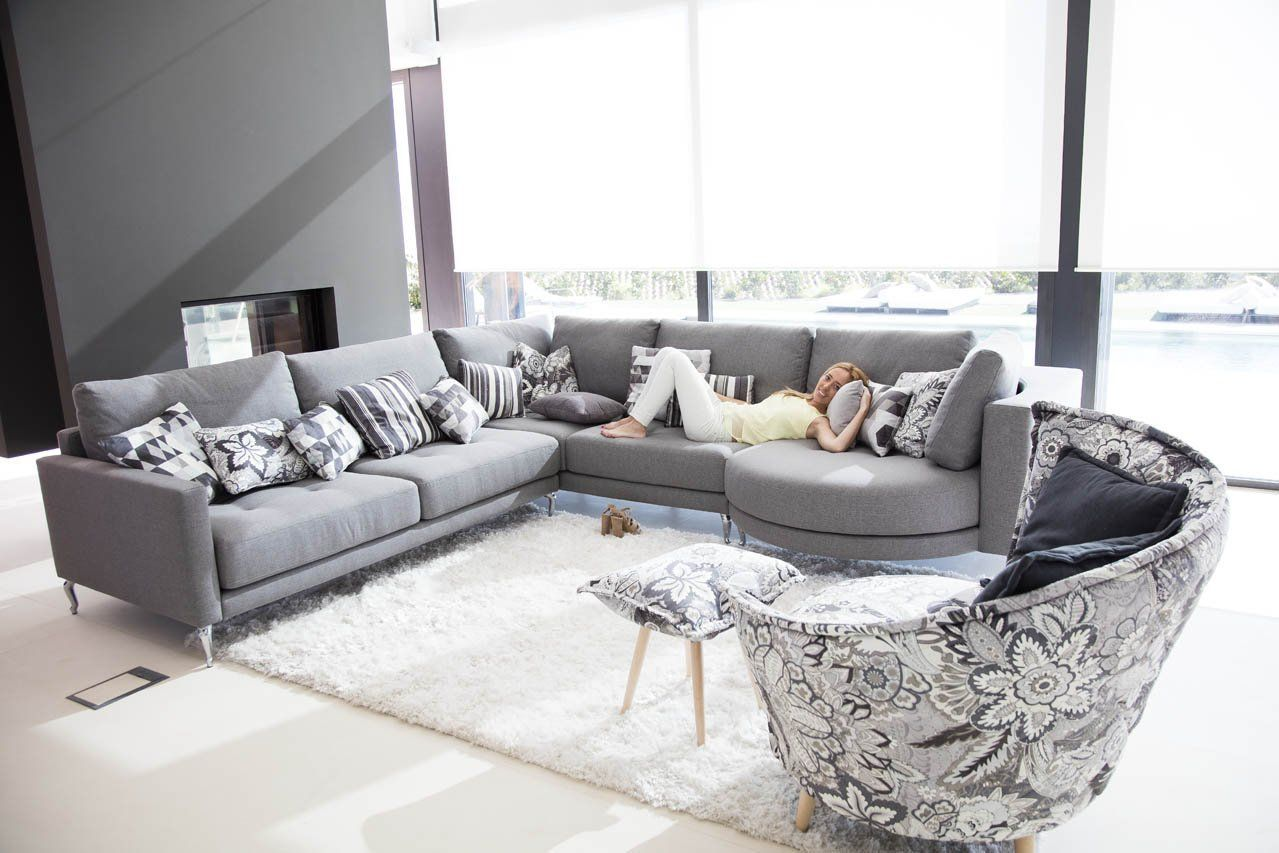 The Hollie is an incredibly comfortable and versatile modular sofa ...